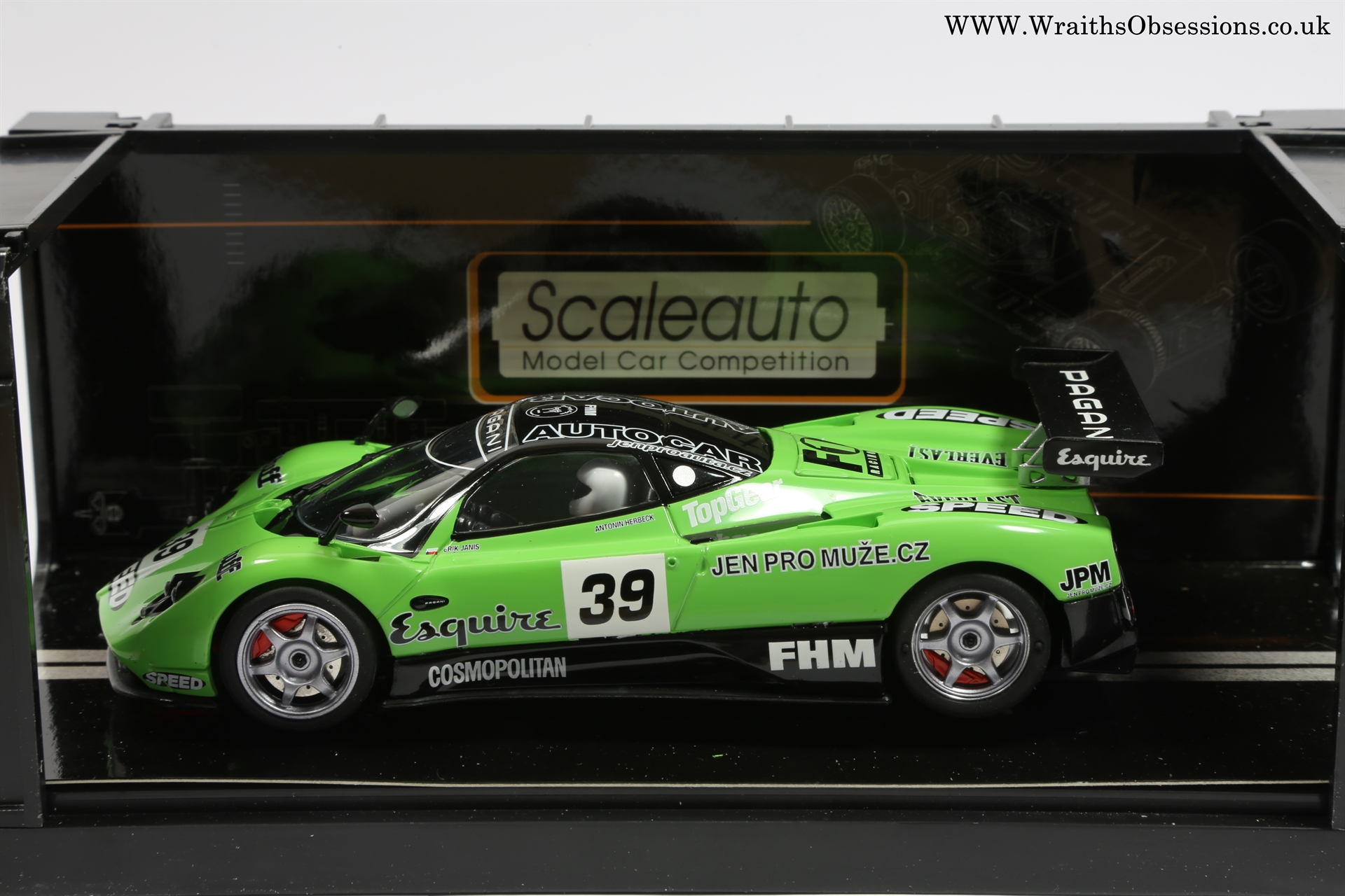 S Scaleauto Gt Wraiths Obsession Slot Cars