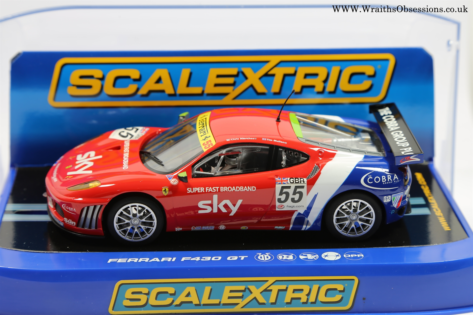 S Scalextric Gt Wraiths Obsession Slot Cars